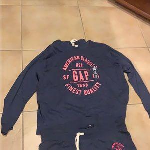 Gap hoodie and matching sweatpants.  NWT